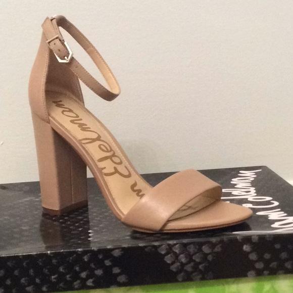 462d1d7d7a52 Sam Edelman Shoes - Sam Edelman Yaro heels in classic nude - size 7m